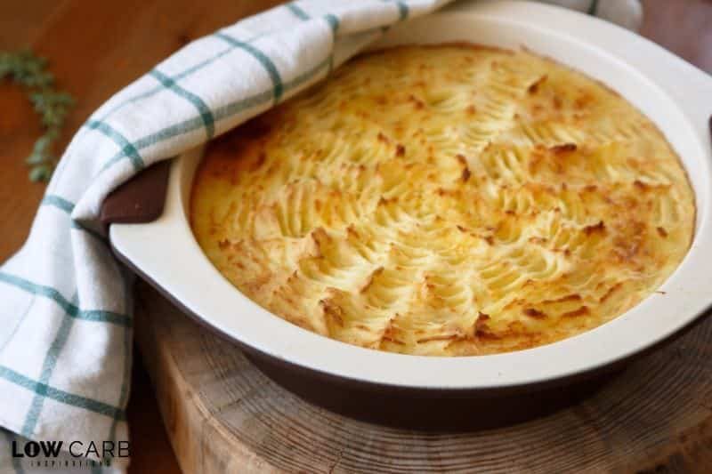 If you love shepherds pie, but don't love the calories and carbs that come with it, then you're going to love my version of the Low Carb Shepherd's Pie recipe.