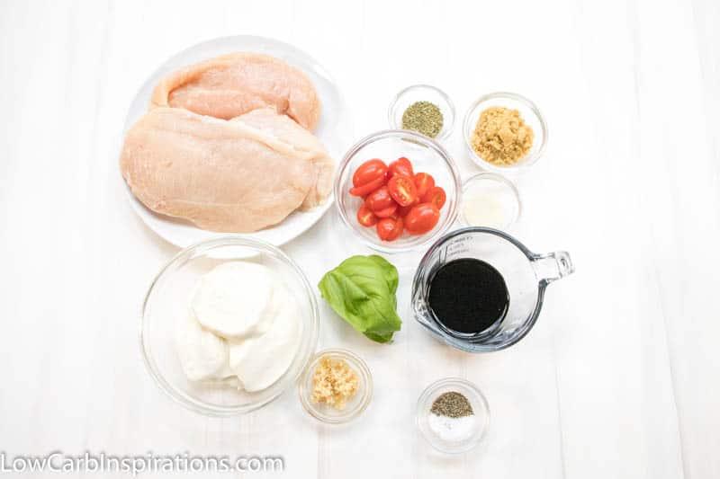 Baked Chicken Caprese