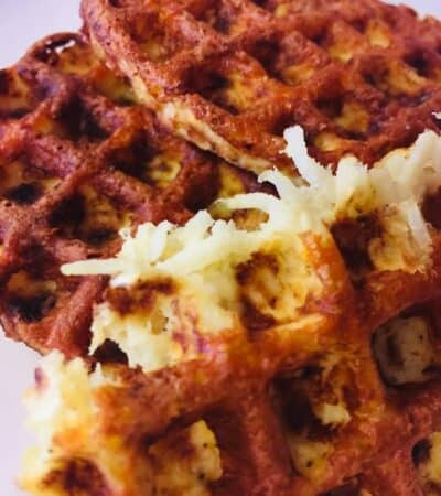 Jicama Hash Brown Chaffles Recipe