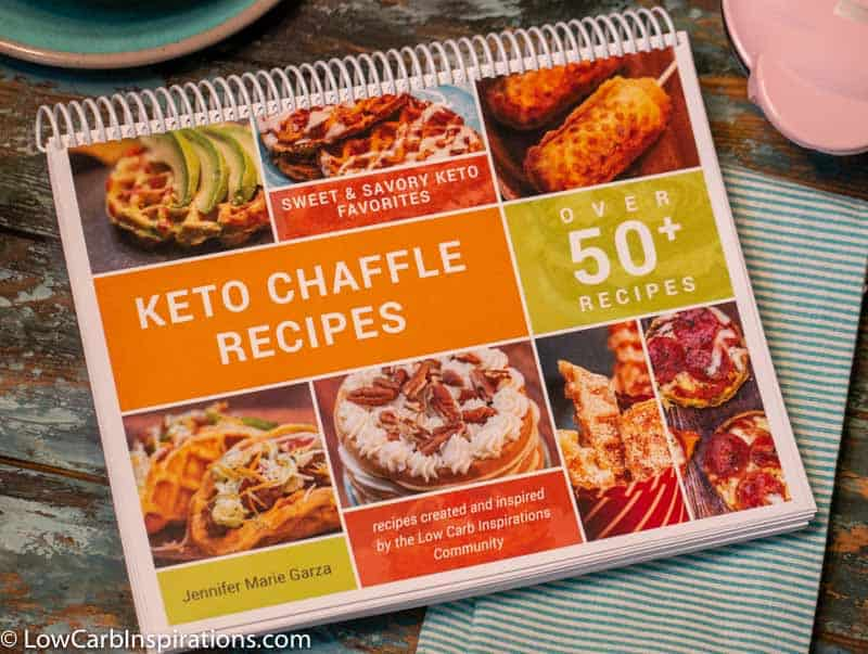Keto Chaffle Recipe eBook Cookbook