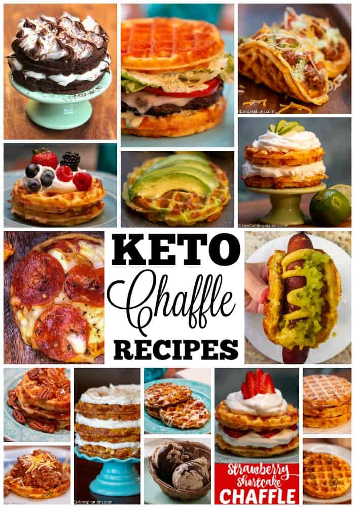 Oh my goodness! I may need an intervention, but these Keto Chaffle Recipes are amazing! I feel like I am able to eat so many of my past favorite recipes again because...one word. Chaffles!