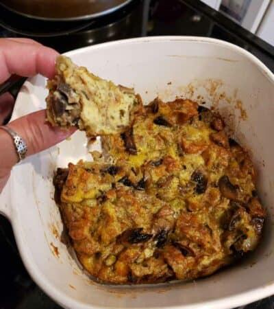 Keto Chaffle Stuffing Recipe