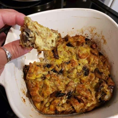 Keto Chaffle Stuffing Recipe