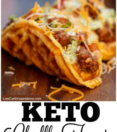 Keto Chaffle Tacos Recipe
