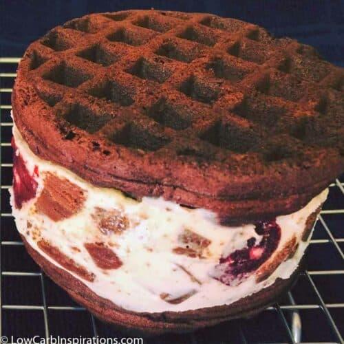 Keto Chocolate Ice Cream Sandwich Recipe