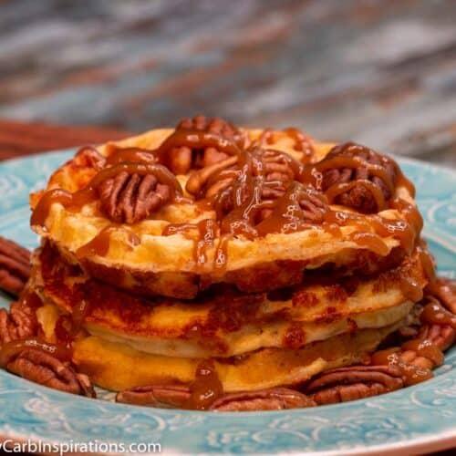 Keto Banana Nut Chaffle Recipe