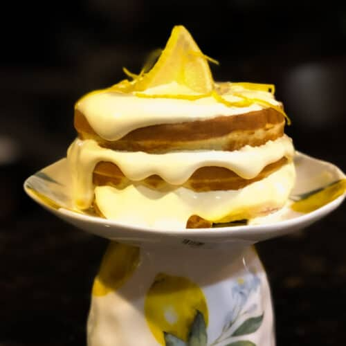 Lemon Chaffle Recipe