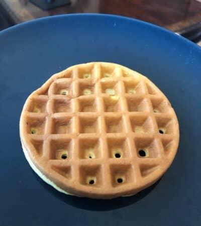 Lupin Flour Waffle Recipe