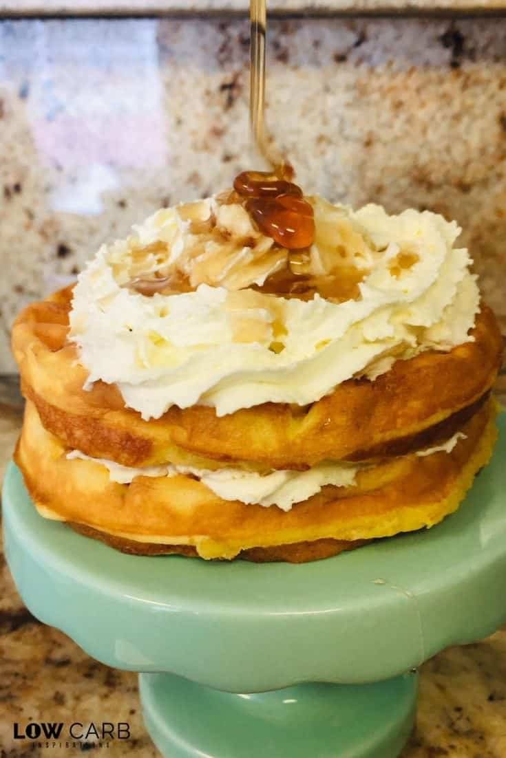 Who misses cereal? I do!!! This Cap'N Crunch Cereal Chaffle tastes just like the real thing!!! This is a must try for sure!!