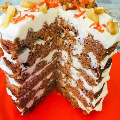 Carrot Chaffle Cake recipe