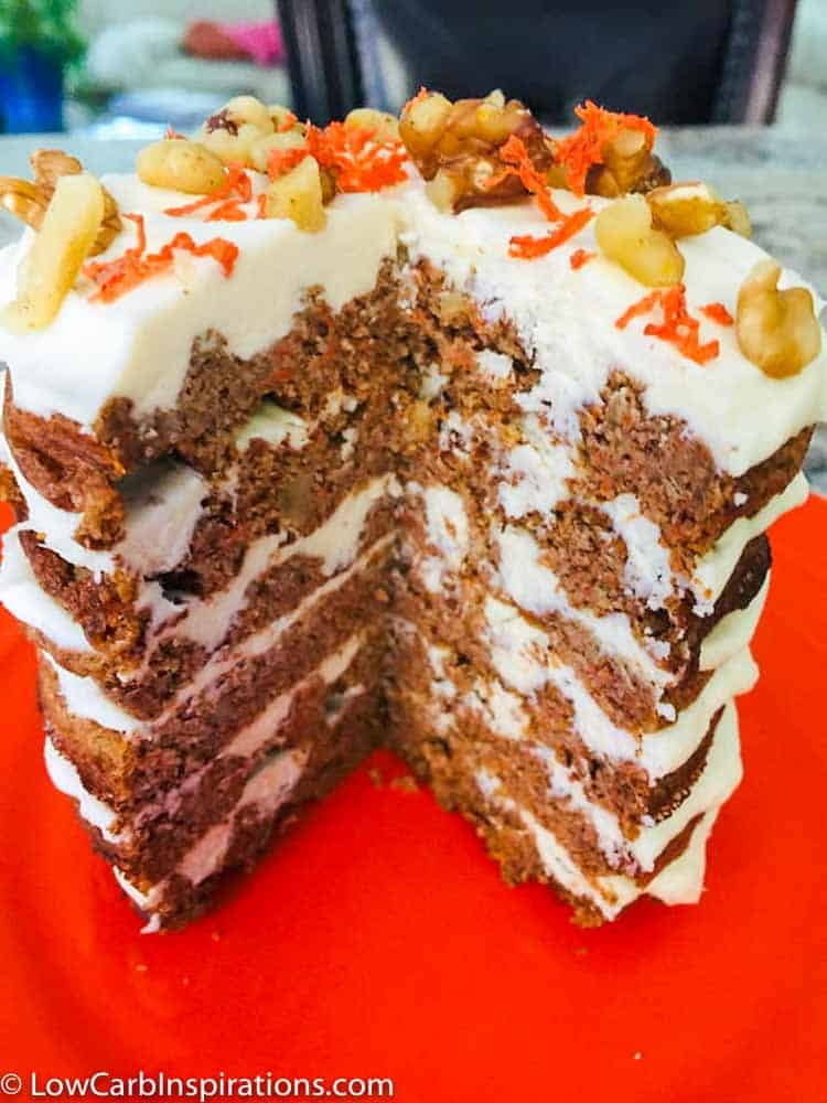 Carrot Chaffle Cake recipe