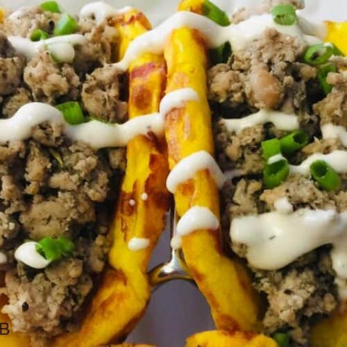 OMG...just OMG! This Jamaican Jerk Chicken Chaffle is so tasty! If you love a good Jamaican jerk chicken recipes and are looking for an easy jerk chicken recipe, you are going to love these!