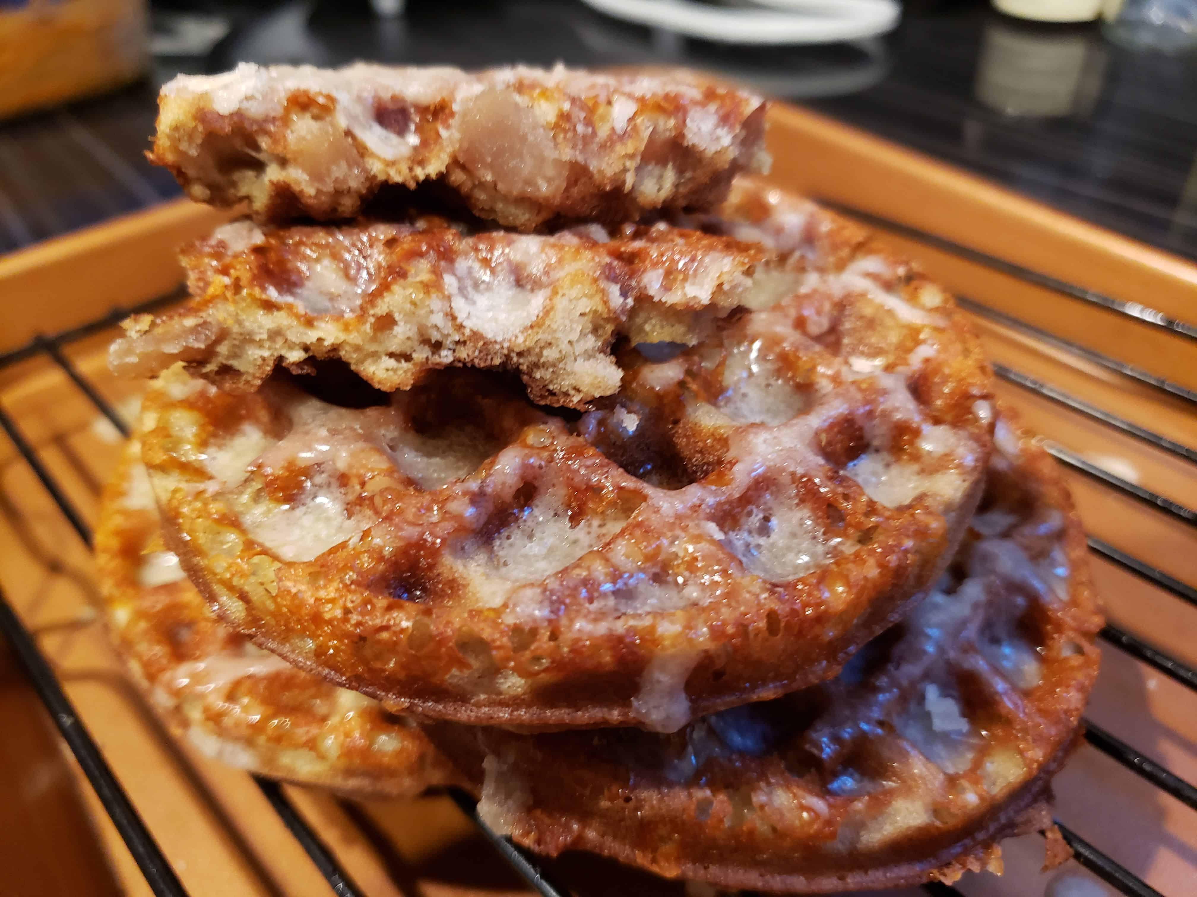 Keto Apple Fritter Chaffle Recipe