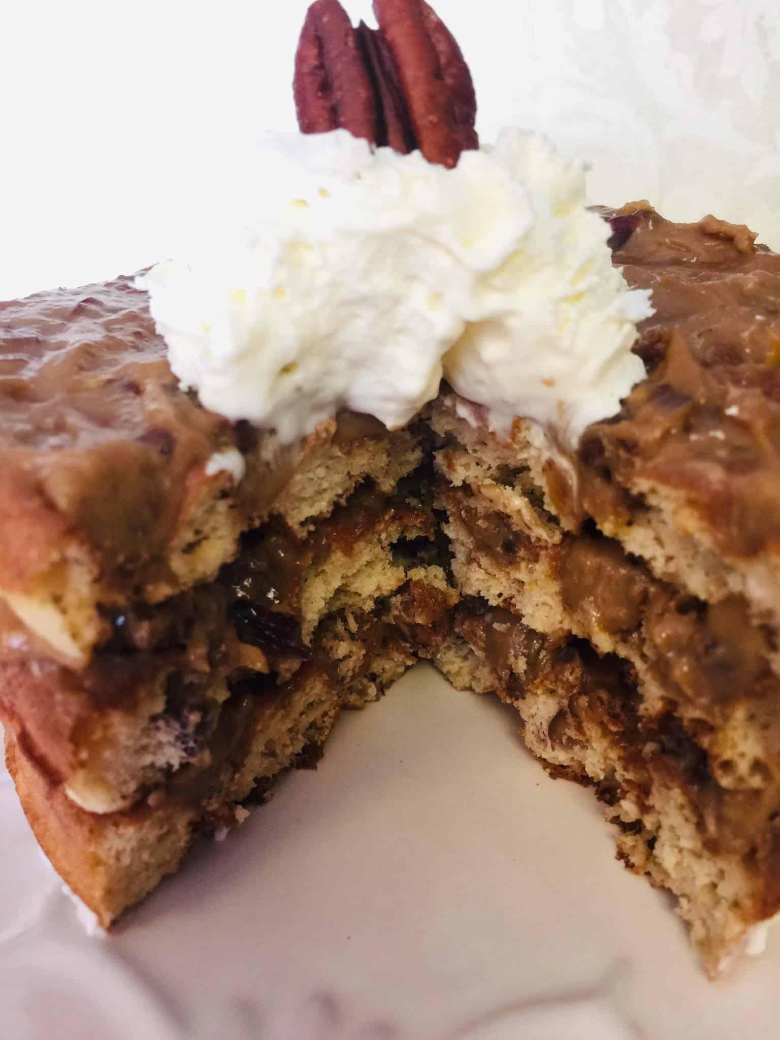 Pecan Pie Chaffle Cake Recipe