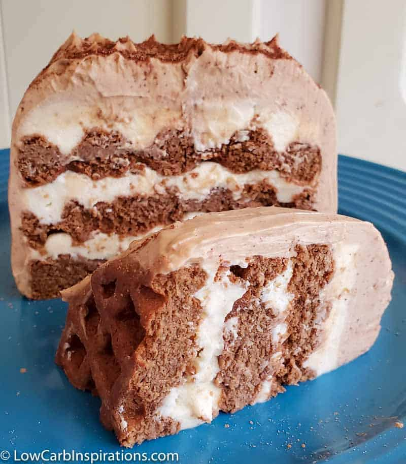 Tiramisu Chaffle Cake Recipe