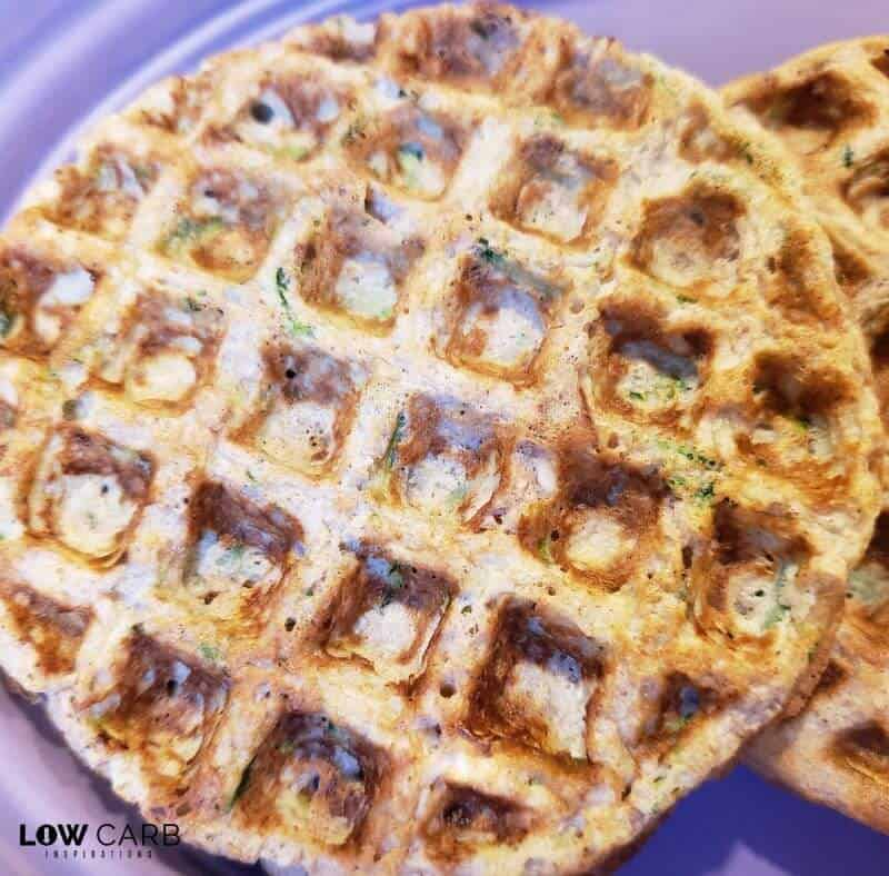 Zucchini Nut Bread Chaffle Recipe