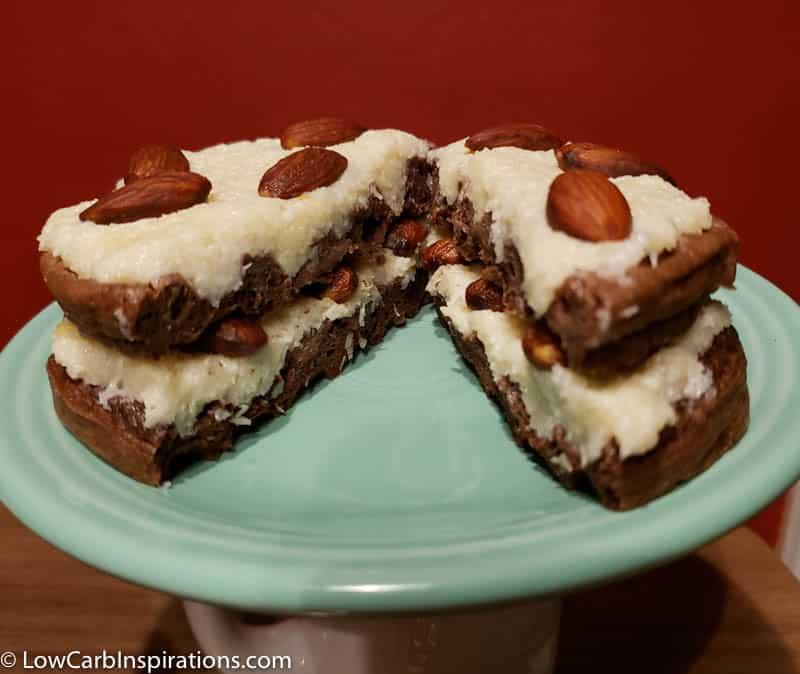 Almond Joy Cake Chaffle Recipe