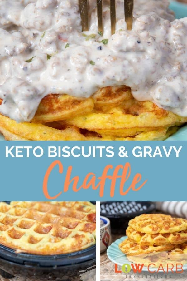 Biscuits And Gravy Chaffle Recipe