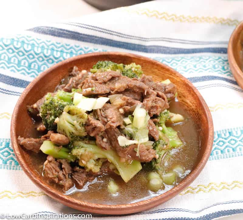 Easy Instant Pot Keto Beef and Broccoli Recipe
