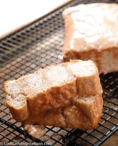 Keto Cinnamon Swirl Bread Recipe