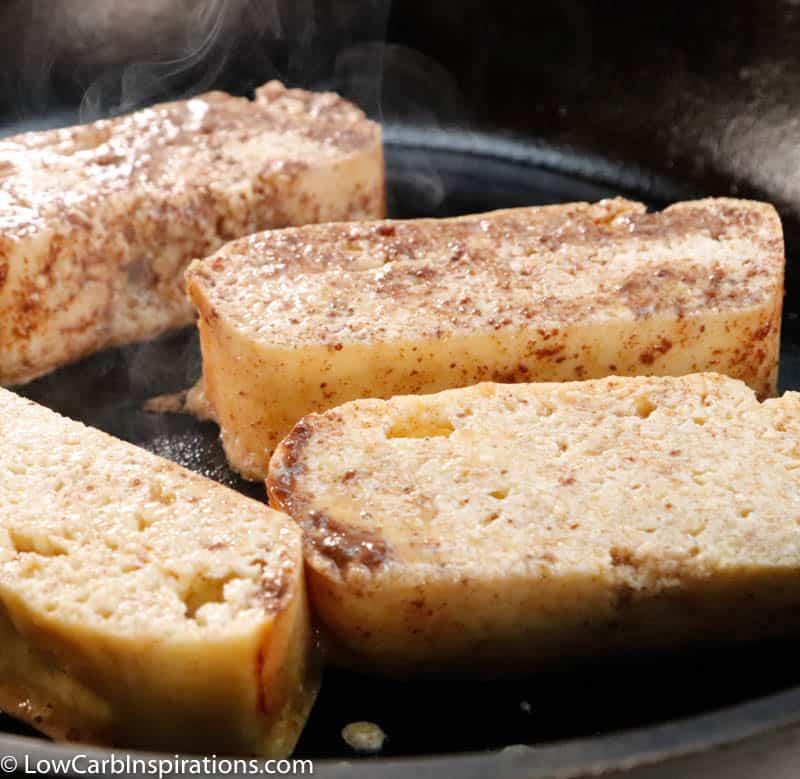 Keto Cinnamon French Toast Recipe