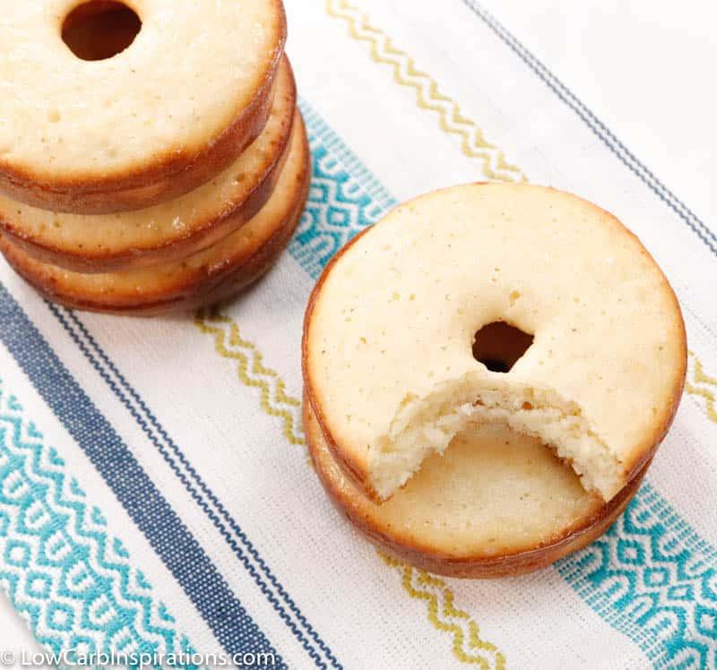 Keto Sour Cream Old Fashioned Donuts