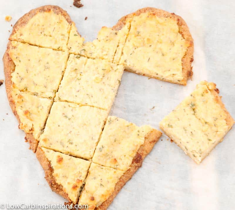 Keto Valentine's Day Heart Shaped Pizza Recipe
