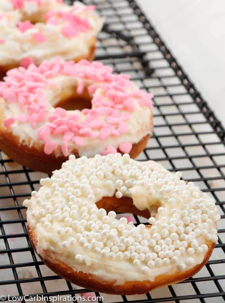 Keto Valentines Donuts Recipe