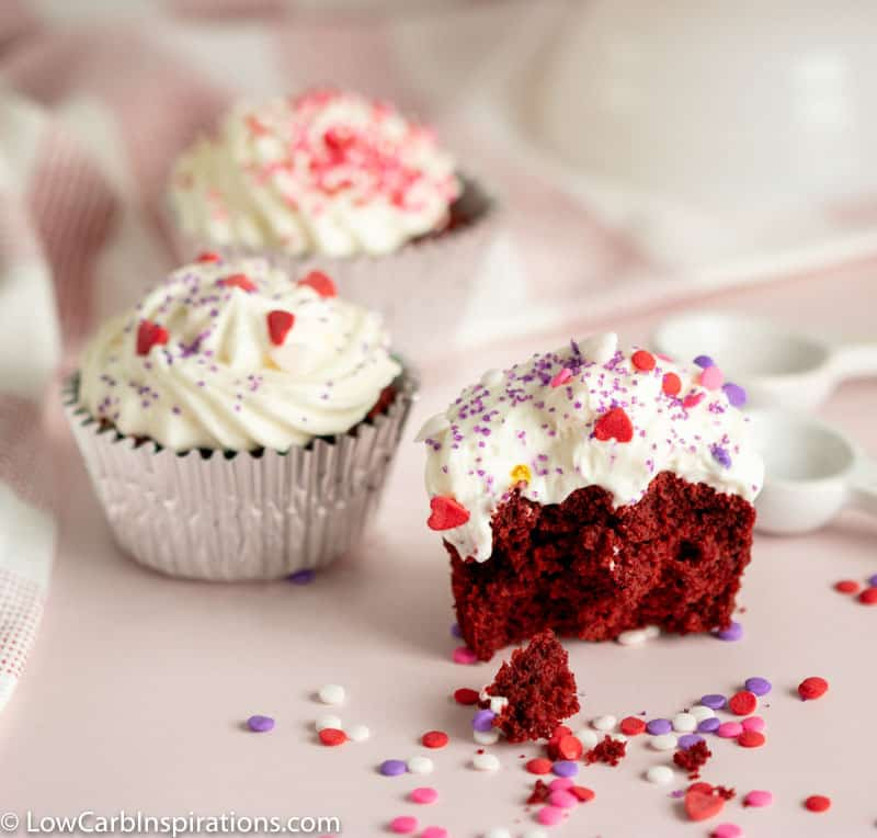Best Keto Red Velvet Cupcake Recipe