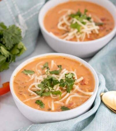 Creamy Keto Mexican Soup Recipe