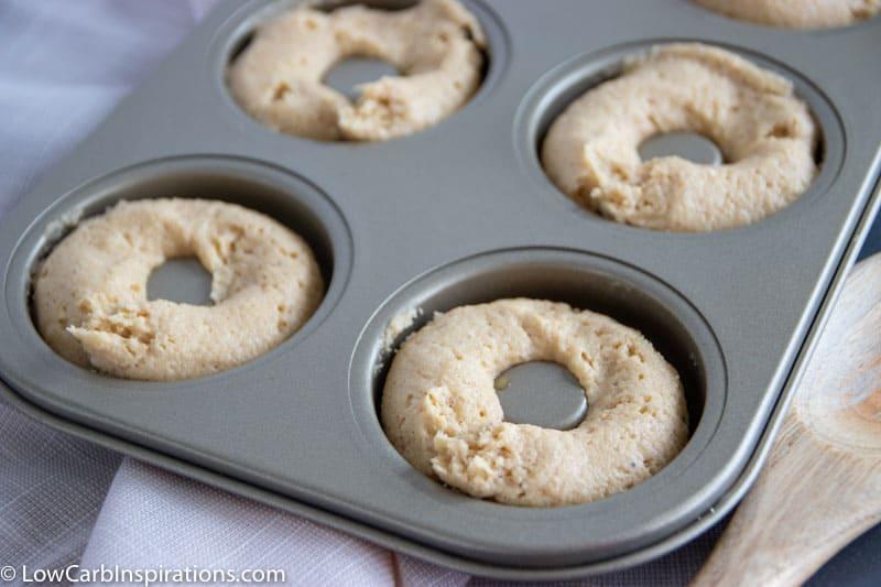Keto Cinnamon Sugar Donuts Recipe