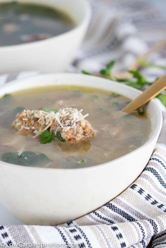 Keto Italian Wedding Soup Recipe