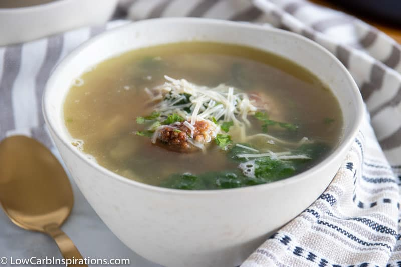 Keto Italian Wedding Soup Recipe