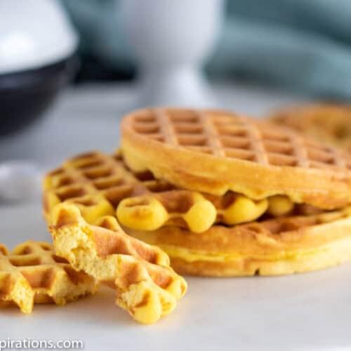 Keto Wonder Bread Chaffle Recipe