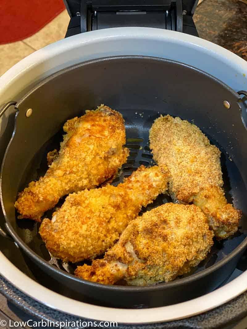 Keto Buttermilk Fried Chicken