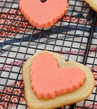 Keto Heart Shaped Cookies