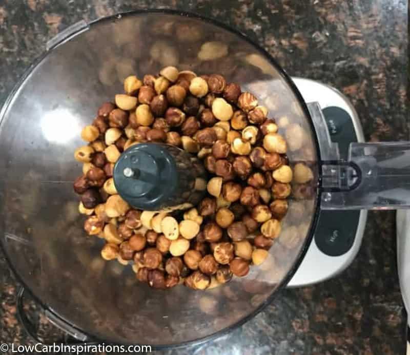 Keto Nutella Sugar Free Hazelnut Spread Recipe