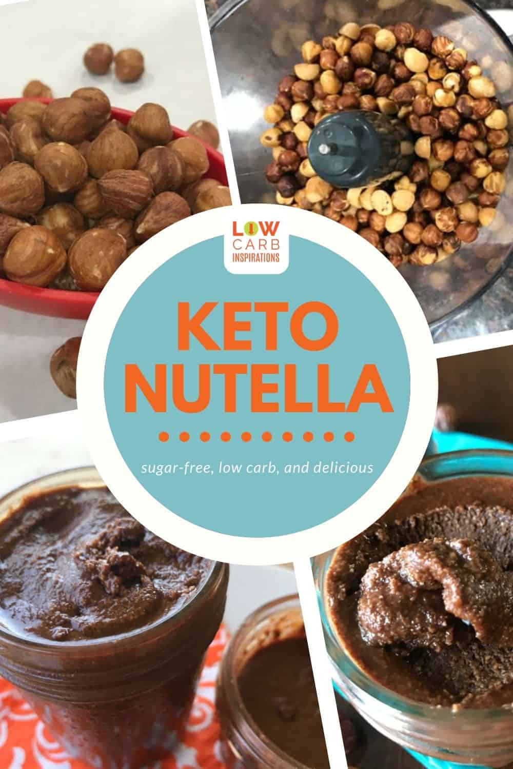 Keto Nutella Sugar Free Hazelnut Spread Recipe