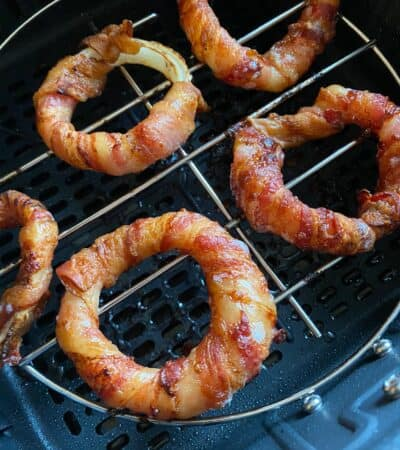 Bacon Wrapped Onion Rings Recipe