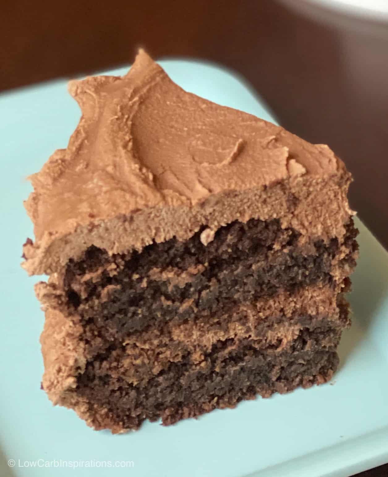 Keto Chocolate Crazy Cake Recipe