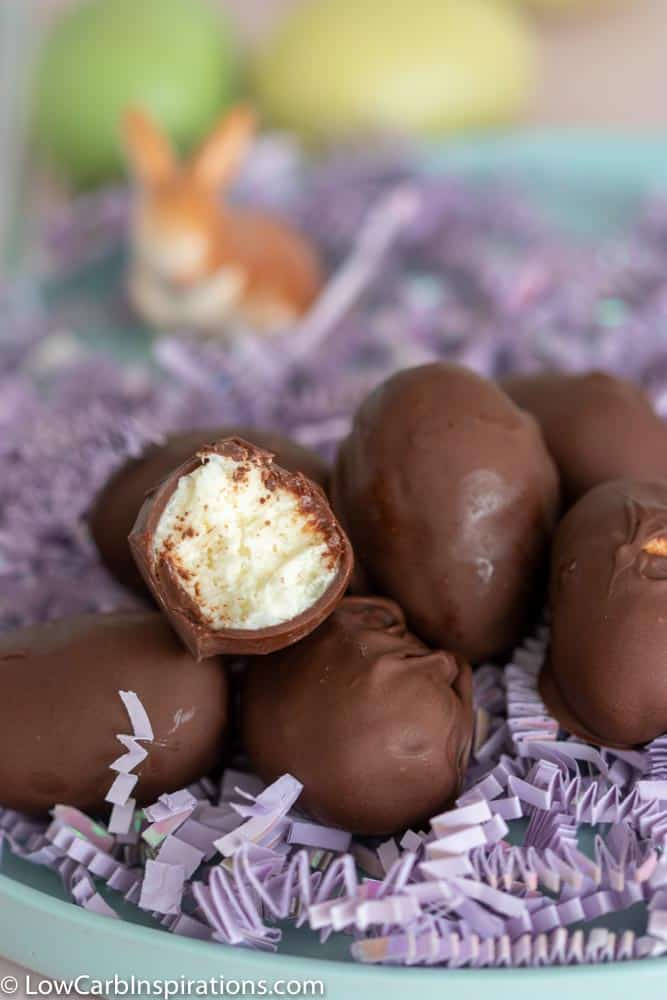 Keto Chocolate Coconut Cream Eggs Recipe