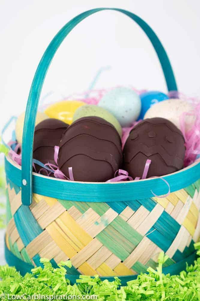 Keto Chocolate Peanut Butter Eggs Recipe