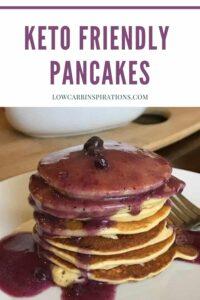Simple Keto Friendly Pancakes Recipe