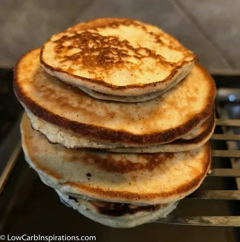 Simple Keto Friendly Pancakes Recipe