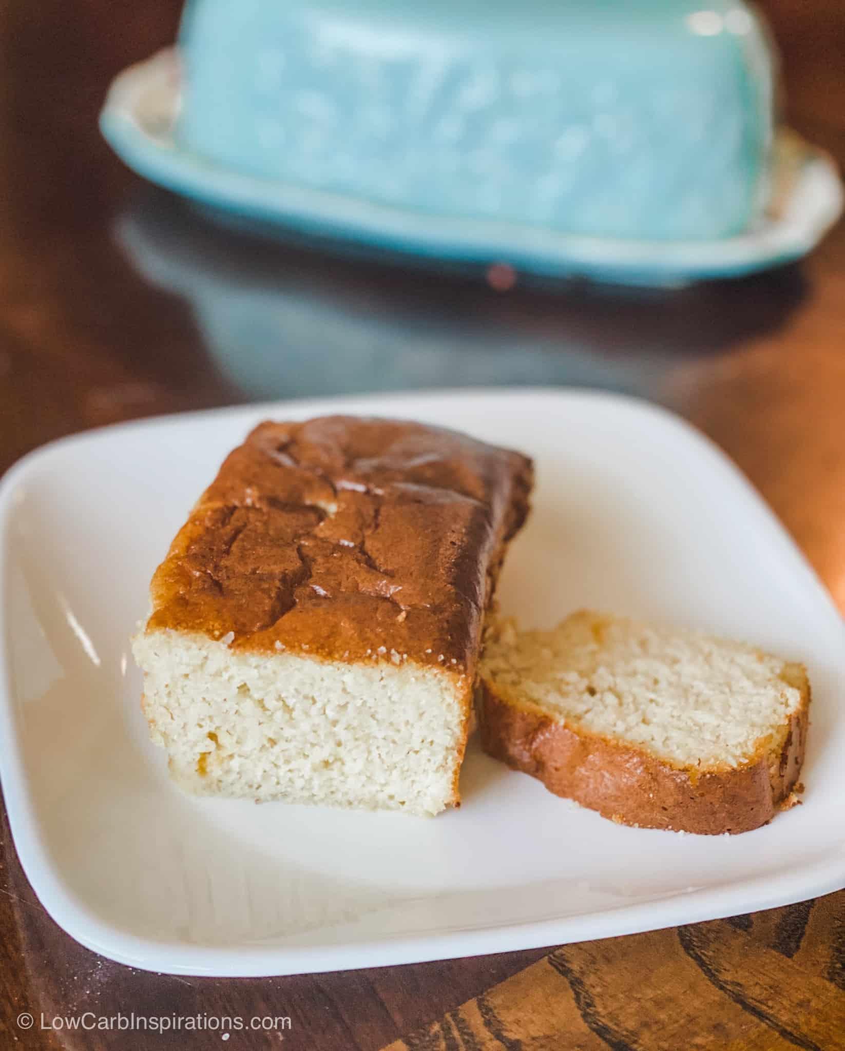 Keto Melted Ice Cream Cake (Sweet Bread)