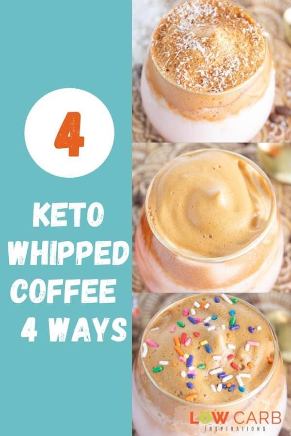 4 Ways to Make Keto Dalgona Whipped Coffee