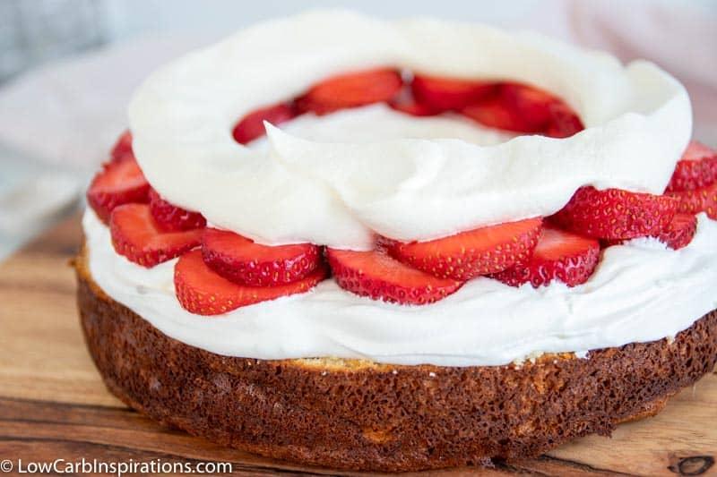 Keto Strawberry Shortcake Recipe - Low Carb Inspirations