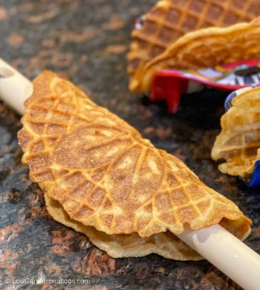 Keto Choco Taco Ice Cream Sandwich Recipe