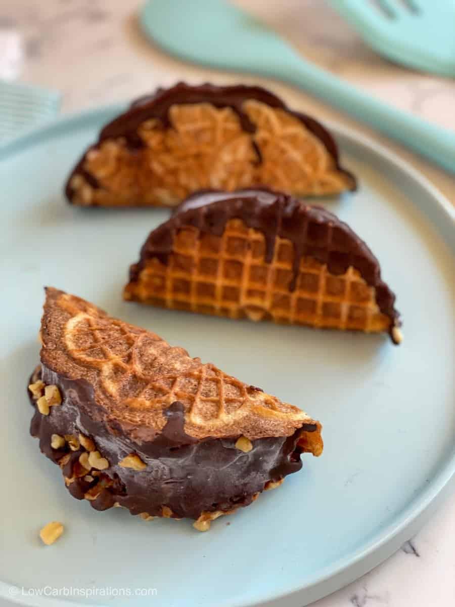 Keto Choco Taco Ice Cream Topping Recipe