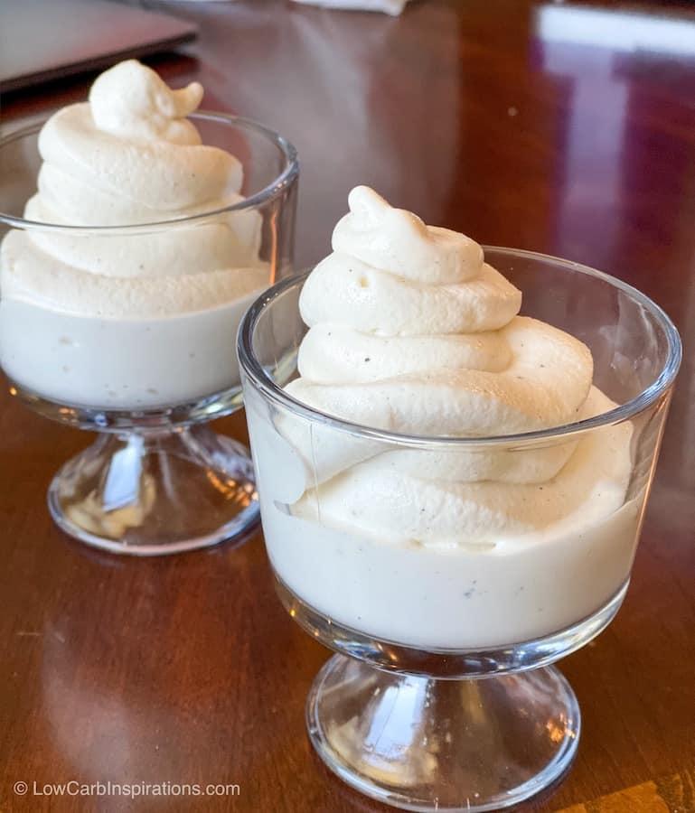 Keto Soft Serve Vanilla Ice Cream Recipe (made with dry ice)